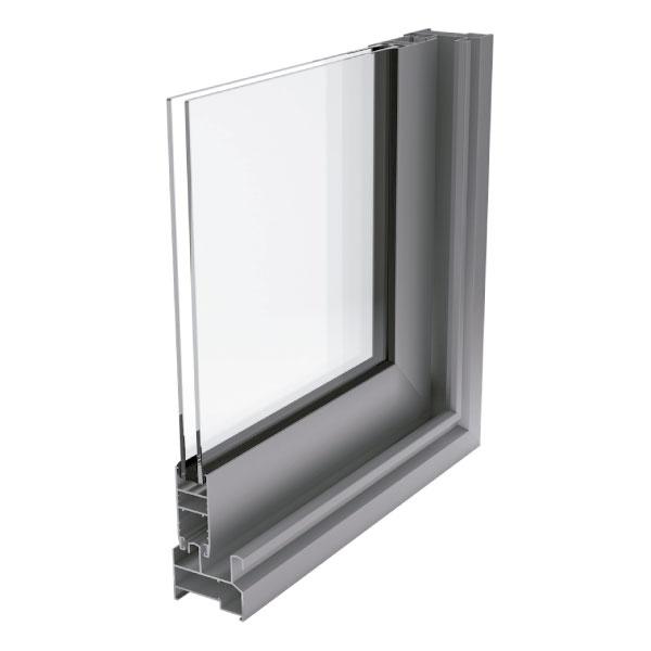 Ventana de aluminio sin rotura de puente térmico IT-205-1