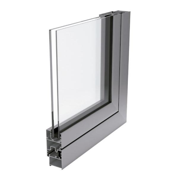 Ventana de aluminio sin rotura de puente térmico PR-7000