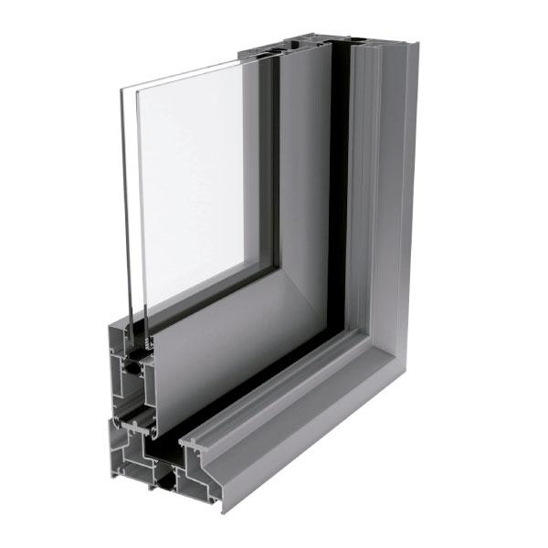 Ventana de aluminio con rotura de puente térmico elevable gr