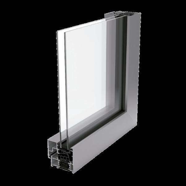 Ventana de aluminio con rotura de puente termico slide-rs-70